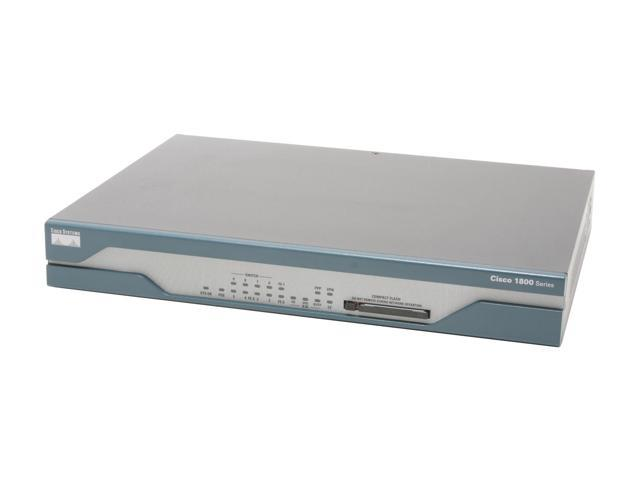 Маршрутизатор Dual Ethernet Security Router with V.92 Modem Backup (CISCO1811/K9)