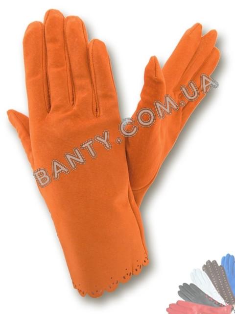 Женские перчатки без подкладки модель 170