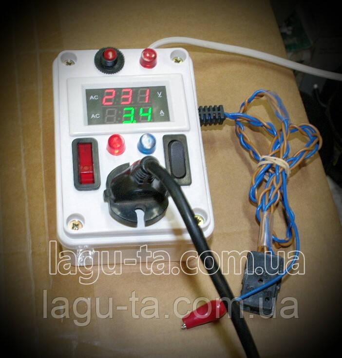 Прибор для проверки мотор-компрессора в любом холодильном оборудовании