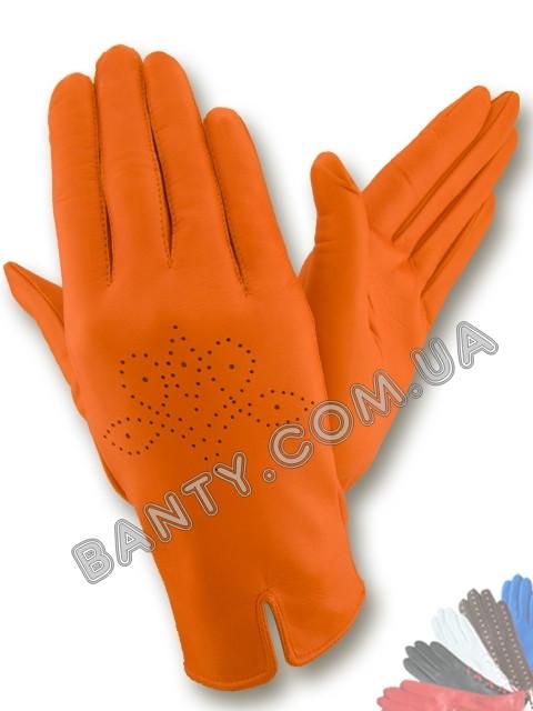 Женские перчатки без подкладки модель 203