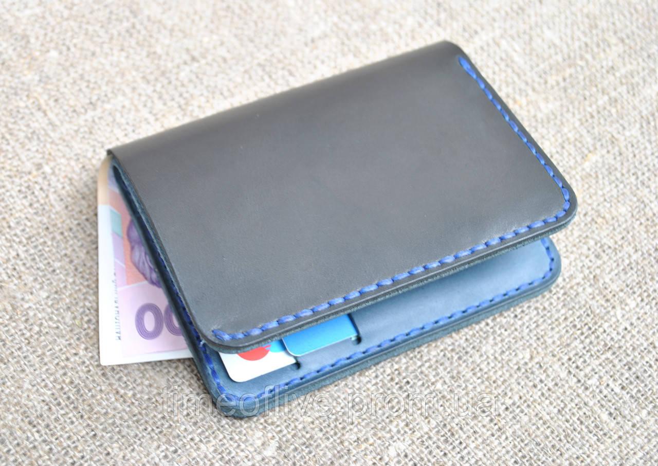 77f35e70066a Компактный портмоне ручной работы из натуральной кожи: продажа, цена ...