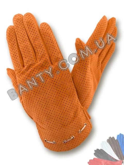 Женские перчатки без подкладки модель 216