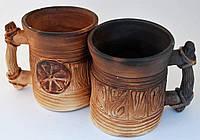 Чашка с символом славянского Коловорота
