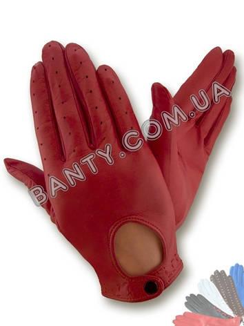 Женские кожаные перчатки без подкладки Модель 274, фото 2