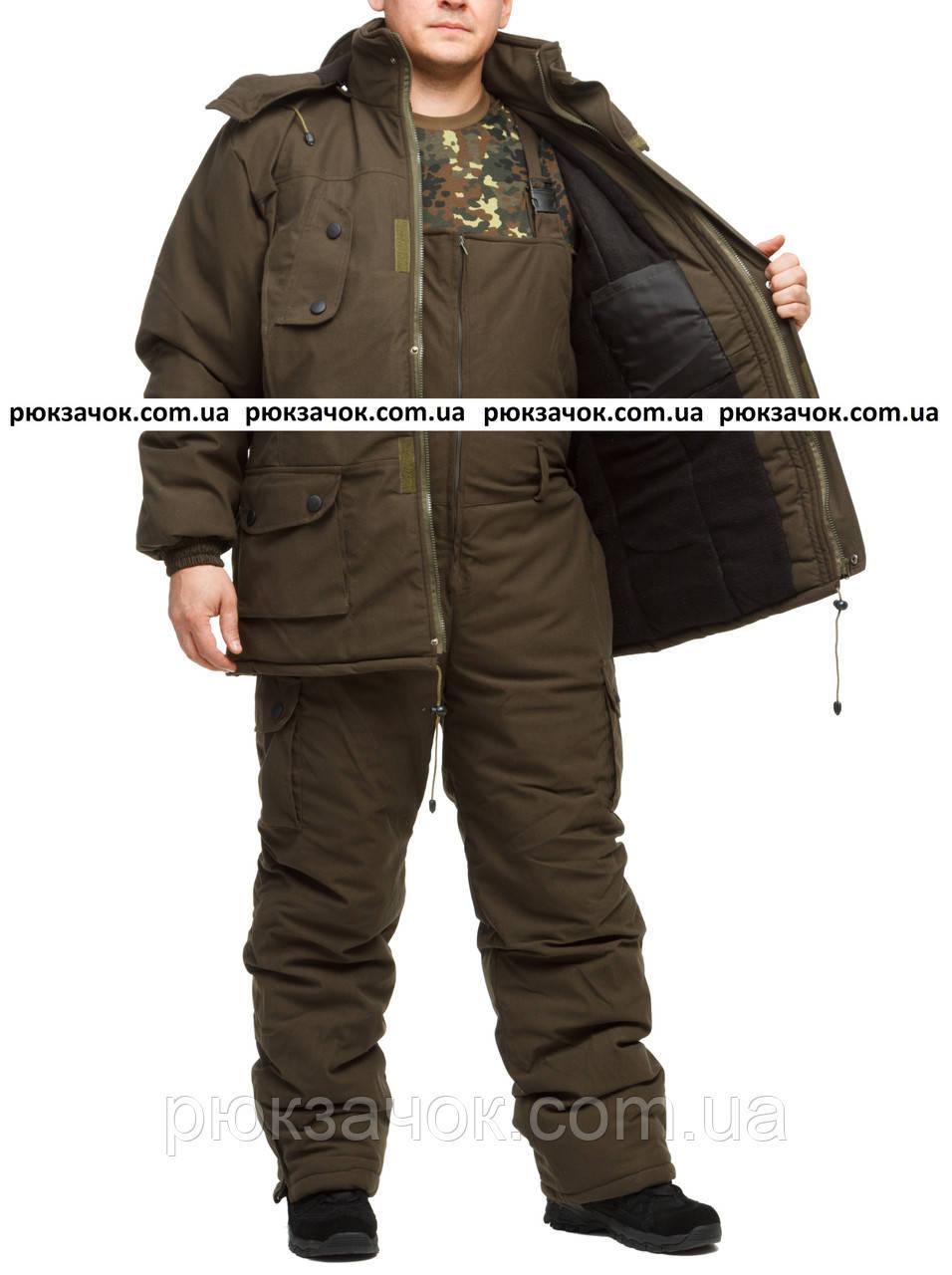 "Костюм для зимней рыбалки ""Олива-хаки"" размер 56-58"