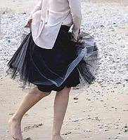 Фатиновая юбка 2 цвета, фото 2
