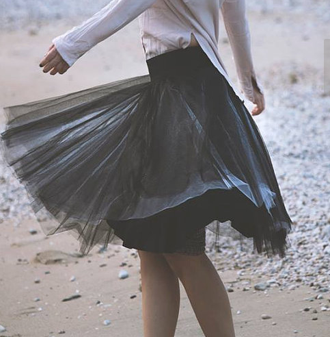 Фатиновая юбка 2 цвета