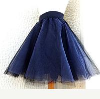 Фатиновая юбка 2 цвета, фото 6