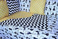 Комплект в кроватку Кошка 13 в 1