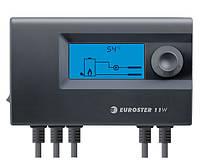 Контроллер EUROSTER 11W для управления твердотопливным котлом с воздуходувкой и насосом Ц.О.