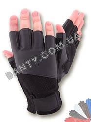 Перчатки без пальцев модель 277