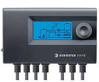Контроллер EUROSTER 11WB для управления твердотопливным котлом с воздуходувкой, насосами Ц.О. и ГВС.