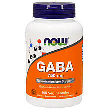 Спецдобавка GABA 750 мг 100 капсул