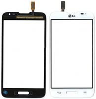 Сенсор (тач скрин) LG Optimus L70 D320, D321, MS323 white (оригинал)