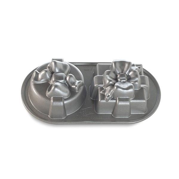 Форма для выпечки Nordic ware Pretty Presents Duet 32х17х7 см для кексов (84848)
