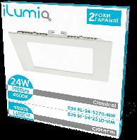 Встраиваемый светодиодный светильник Ilumia 034 RL-24-S270-NW