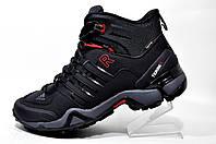 Кроссовки на меху Adidas Terrex Fast x Gore-Tex, Black зимние