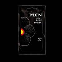 Краска для ткани DYLON Velvet Black - для покраски вручную