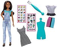 Barbie Набор Барби Модные смайлики эмоджи D.I.Y. Emoji Style Doll DYN92