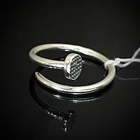 Серебряное кольцо универсального размера