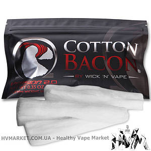 Вата Cotton Bacon V2 10 шт