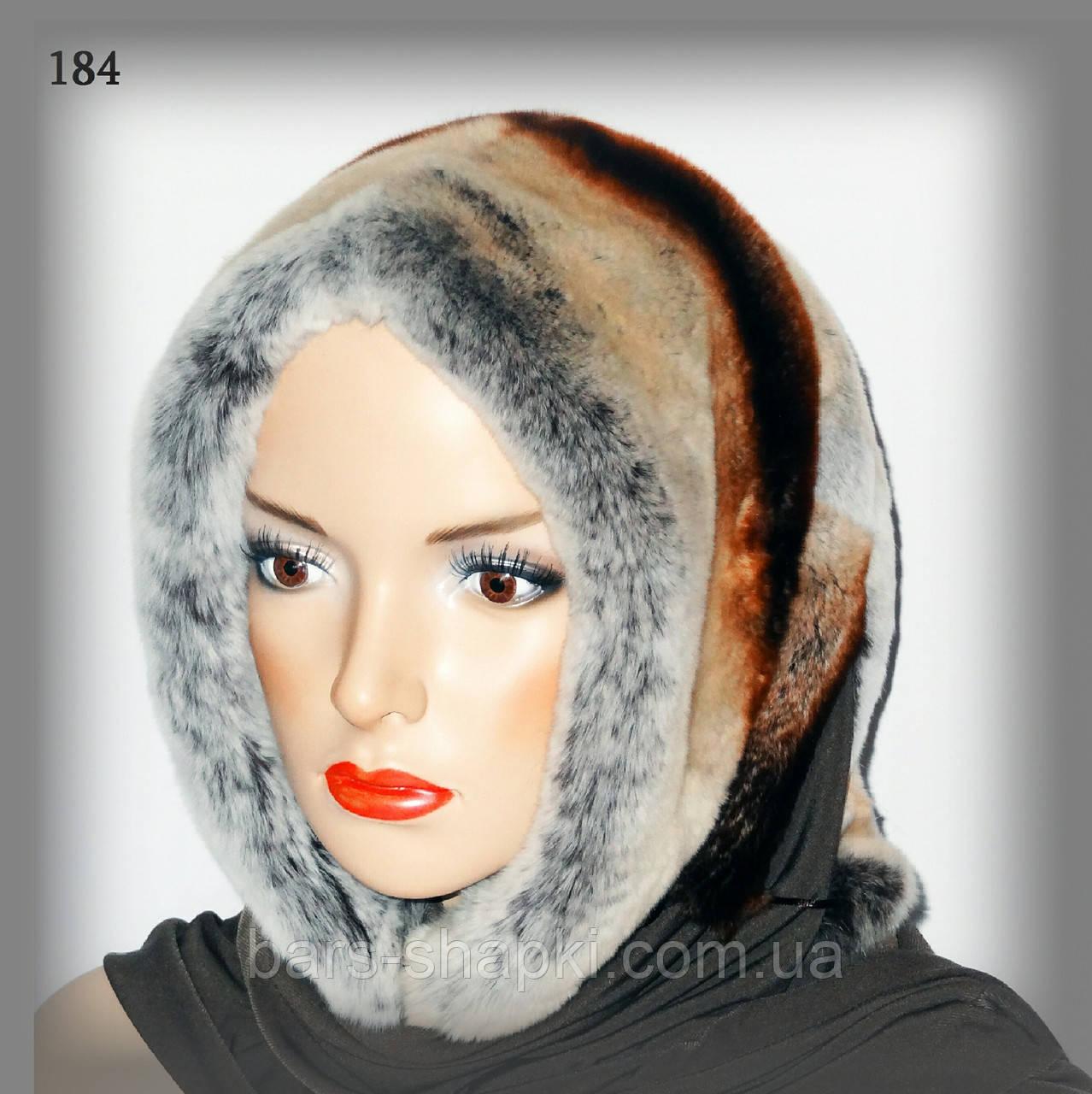 Зимний меховой платок из кролика Rex Rabbit