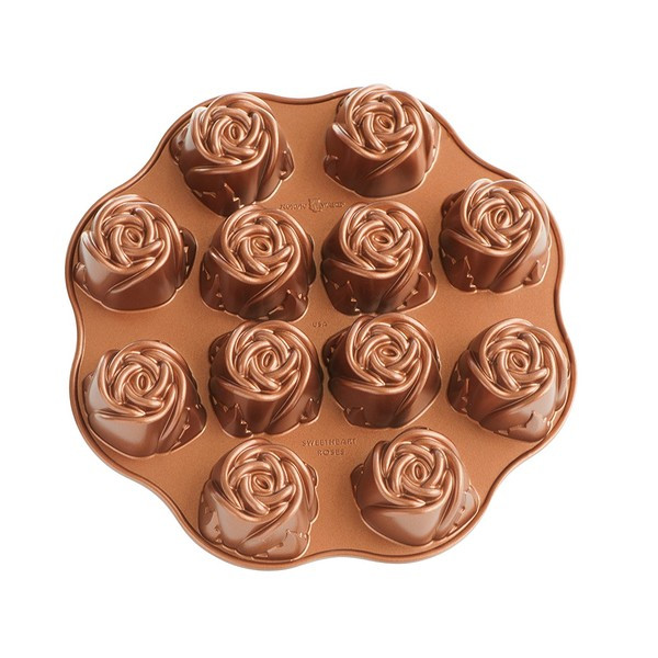Форма для выпечки Nordic ware Rose 30.5х29.5х4.5 см для кексов (56748)