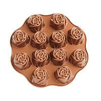 Форма для выпечки Nordic ware Rose 30.5х29.5х4.5 см для кексов (56748), фото 1