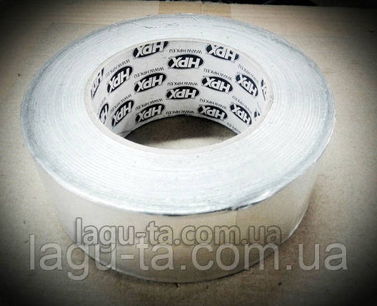 Алюминиевая клейкая лента (скотч) HPX. Лента алюминиевая клейкая, фото 2