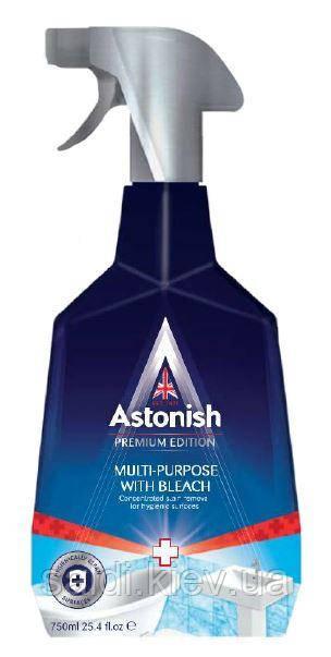 Средство для уборки ванной комнаты и кухни Astonish multi purpose with bleach