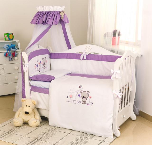 Наборы постельного белья в детскую кроватку