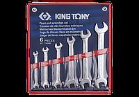 Набор ключей рожковых 6 шт (8-19мм) King Tony 1106MR