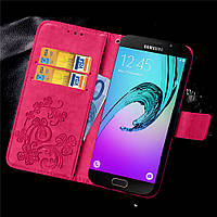 Чехол Clover для Samsung Galaxy A5 2016 J510 книжка женский Pink