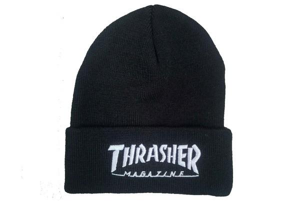 Черная шапка Thrasher magazine