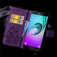 Чехол Clover для Samsung Galaxy A5 2016 J510 книжка женский Purple