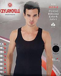 Майка мужская черного цвета (Турция)