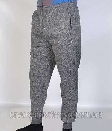 Штаны спортивные мужские под манжет  - зима Брюки теплые Tovta, фото 2
