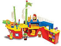 Розвиваюча іграшка Kiddieland Піратський корабель (038075)