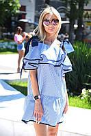 Женское летнее платье на завязках, фото 1