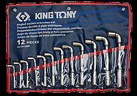 Набор ключей Г-образный 12шт. (8-24 мм) King Tony 1812MR