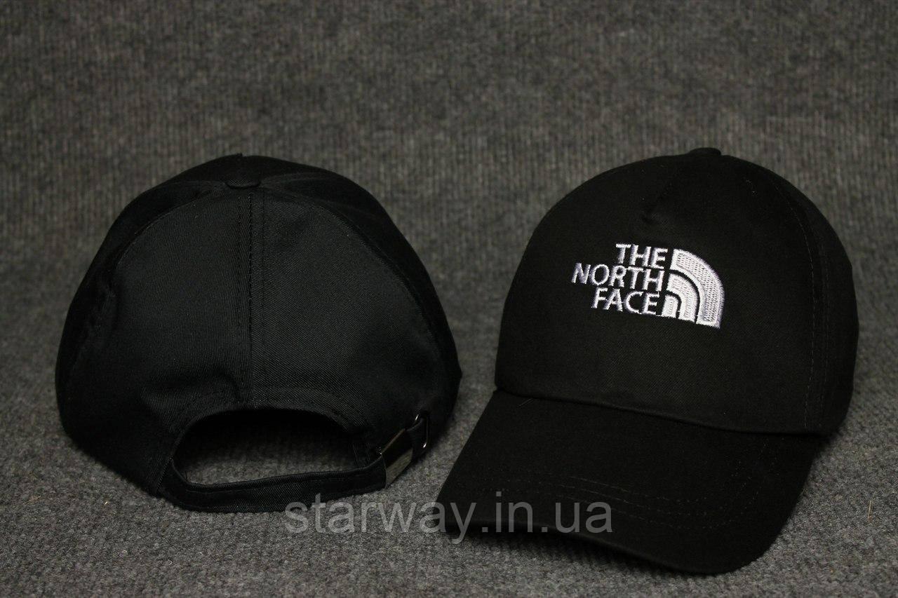 Кепка черная The North Face логотип вышивка
