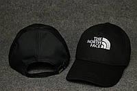 Кепка чёрная The North Face логотип вышивка