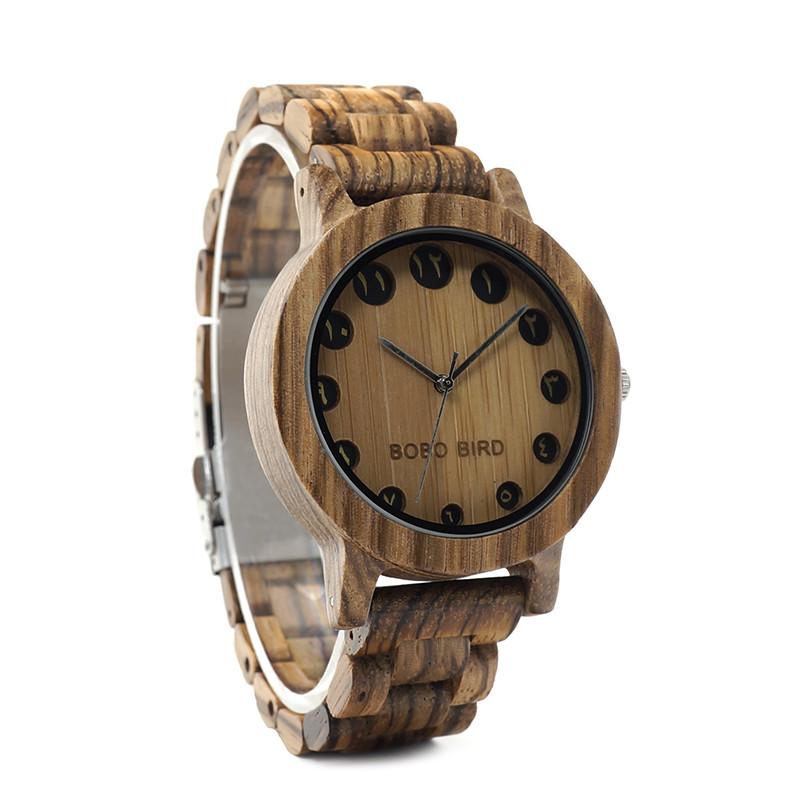 Эксклюзивные часы ручной работы из дерева Bobo Bird B01