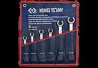 Набор ключей разрезных 6 ед. дюймовые King Tony 1306SR