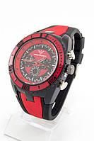 Мужские наручные часы Ferrari (черный с красными метками) (Копия)