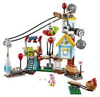 Lego Angry Birds Разгром Свинограда 75824 Pig City Teardown Building Set
