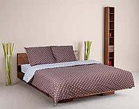 Комплект постельного белья теп бязь из хлопка 964 Ханна евро размер
