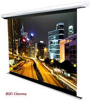 "AVScreen 3V084MEV (4:3, 84"") Matte White моторизированный экран с управлением на проводе, фото 1"