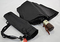 Мужской зонт полуавтомат на 10 металлических спиц