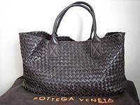 Женская сумка из натуральной кожи Bottega Veneta Limited Edition Cabat